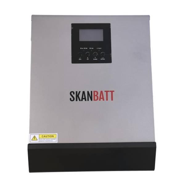 Bilde av SKANBATT Hybrid inverter 24V 1000VA (2000VA) MPPT 25A