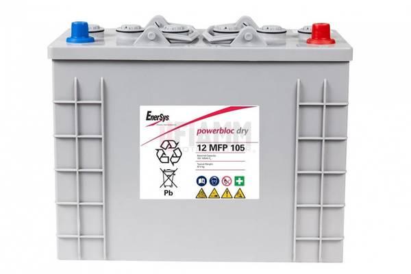 Bilde av ENERSYS 12MFP105 Powerblock GEL 12V 105AH (349x171x248mm)