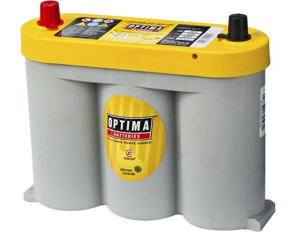Bilde av  Yellow Top 6V 55AH 765CCA (254x90x203mm) +Midstilt 80