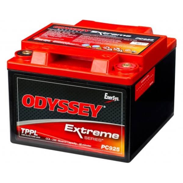 Bilde av ODYSSEY AGM Batteri 12V 28AH 460CCA (169x179x128mm) +høyre