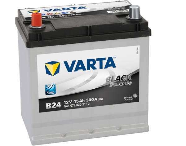 Bilde av VARTA B 24 Black Dynamic Batteri 12V 45AH 300CCA (219x135x200)