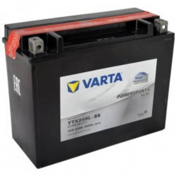 Bilde av  VARTA YTX24HL-BS AGM MC Batteri 12V 21AH 340CCA (206x91x167mm)