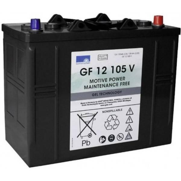 Bilde av SONNENSCHEIN GEL Batteri 12V 105AH (345x174x283mm) +høyre